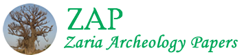 Zaria  Archeology Papers